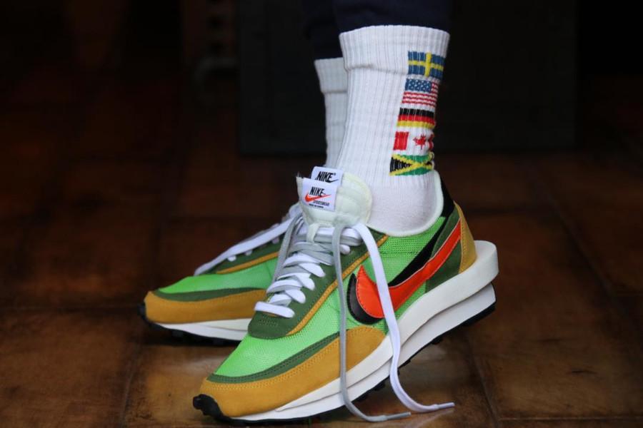 Sacai x Nike LDV Waffle Green Gusto (3)
