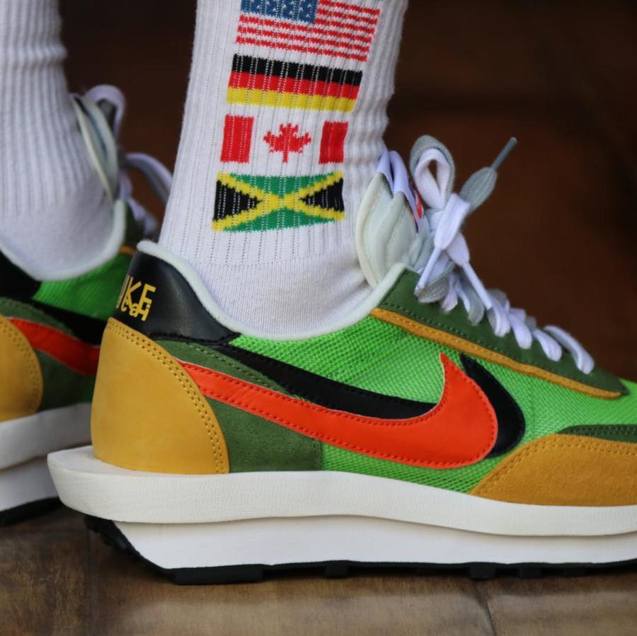 Sacai x Nike LDV Waffle Green Gusto (4)
