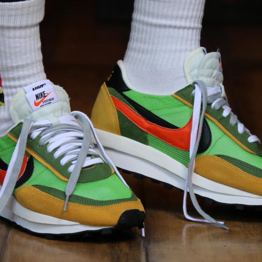 Sacai x Nike LDV Waffle Green Gusto (5)