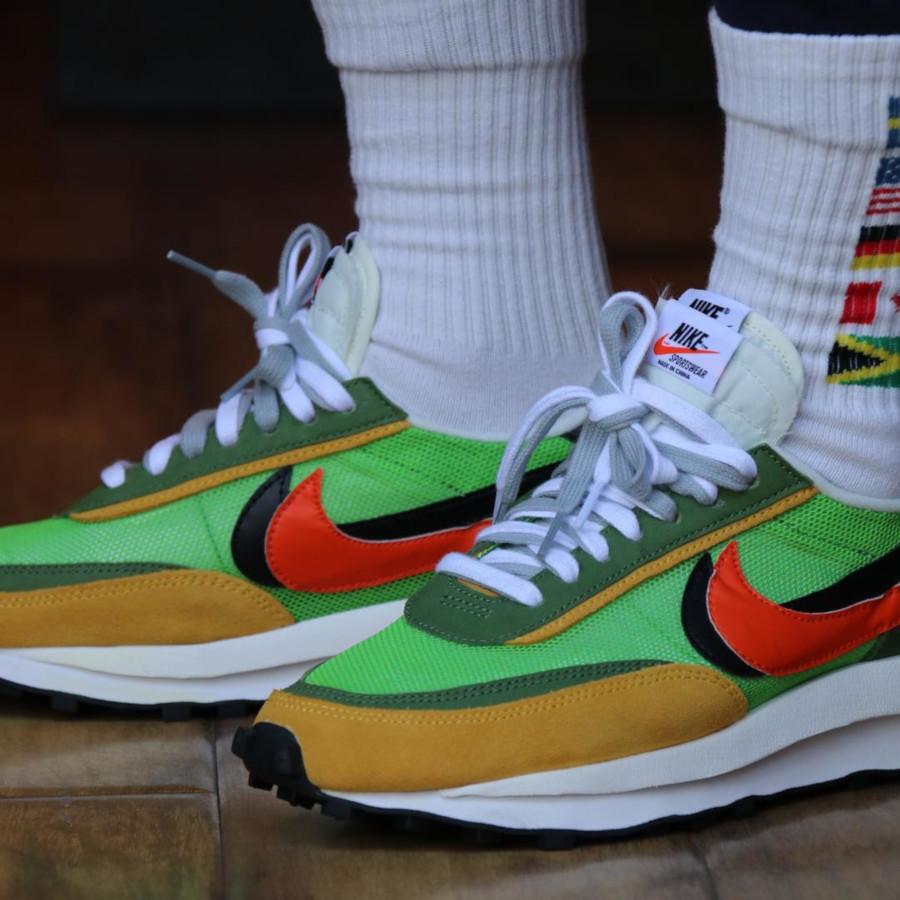 Sacai x Nike LDV Waffle Green Gusto (6)