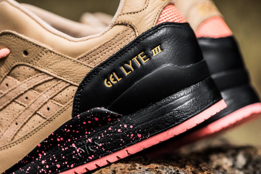 Sneaker Freaker x Asics Gel Lyte 3 'Tiger Snake' Beige Pink (1)