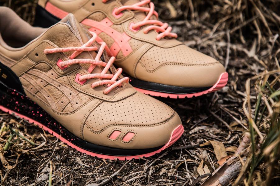 Sneaker Freaker x Asics Gel Lyte 3 'Tiger Snake' Beige Pink (6)