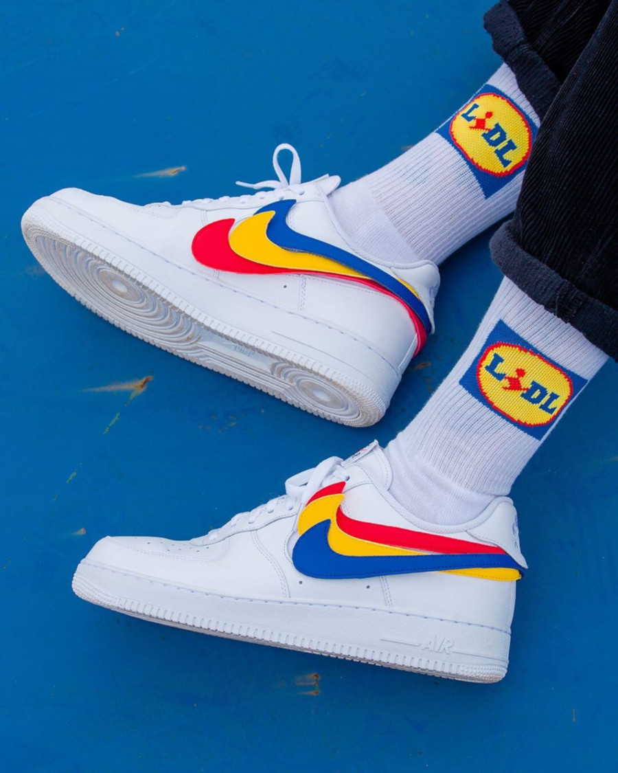 Nike Air Force 1 Velcro Swoosh - @willy
