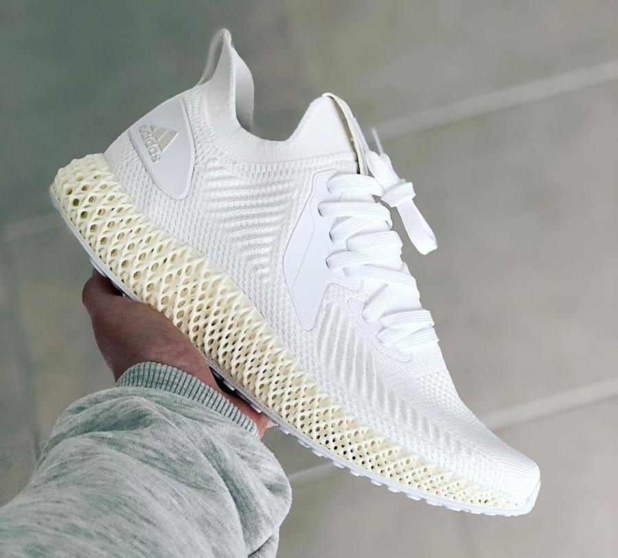 Adidas Alphaedge 4D 2.0 Ftwr White Pearl Grey (1)