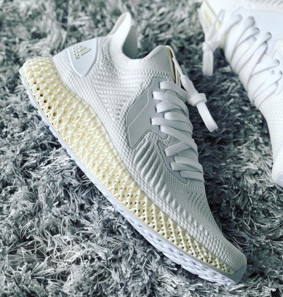 Adidas Alphaedge 4D 2.0 Ftwr White Pearl Grey (3)