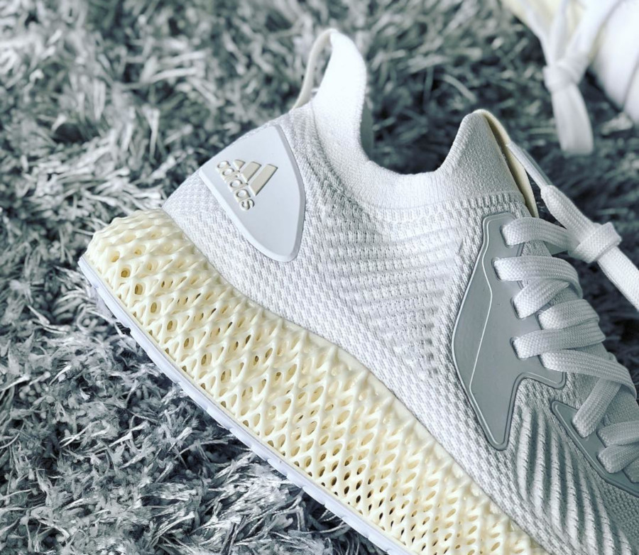 Adidas Alphaedge 4D 2.0 Ftwr White Pearl Grey (4)