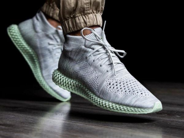 Adidas Consortium Runner Mid 4D Grey Aero Green