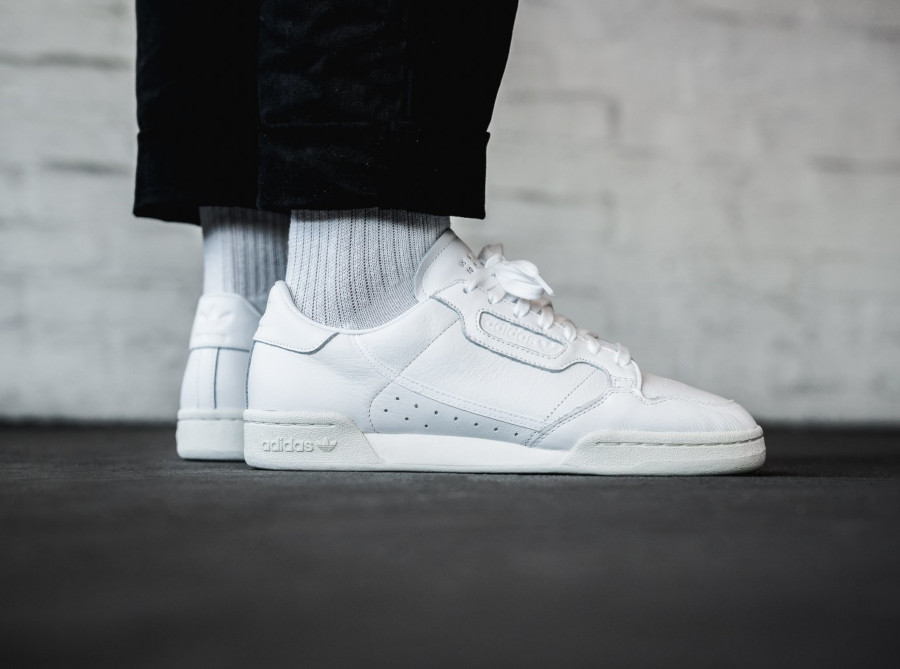 Adidas Continental 80 blanche EE6329