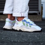 Adidas Ozweego FTWR White Grey One Solar Yellow