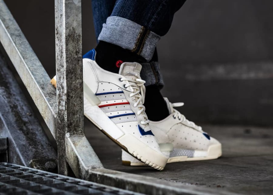 Adidas Rivalry Restomod Low Raw Cloud Crystal White (2)
