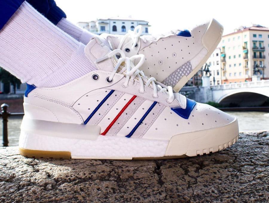 Adidas Rivalry Restomod Low Raw Cloud Crystal White (5-1)