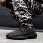 Kanye West x Adidas Yeezy Boost 350 V2 'Static Black Reflective'
