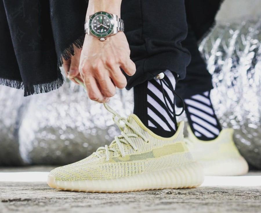Adidas Yeezy Boost 350 V2 Antlia Region Exclusive on feet (2)