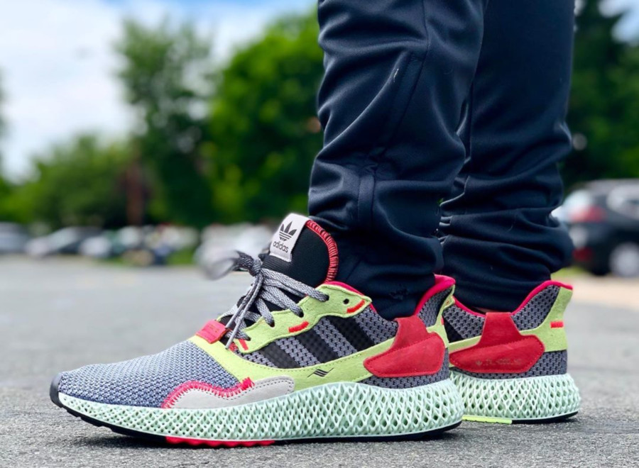 Adidas ZX 4000 4D Futurecraft Hi-Res Yellow BD7927