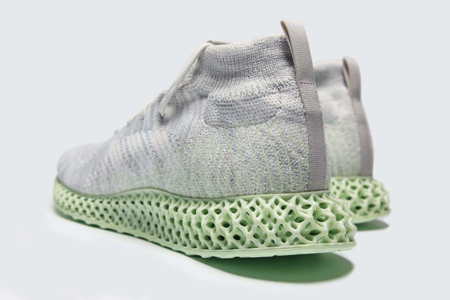 Adidas mi-montante grise avec une semelle en 4D Ee4116 (2)