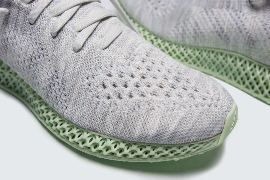 Adidas mi-montante grise avec une semelle en 4D Ee4116 (4)