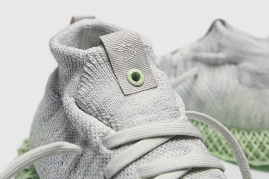Adidas mi-montante grise avec une semelle en 4D Ee4116 (5)