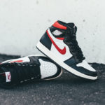 Air Jordan 1 'Black White Sail Gym Red'