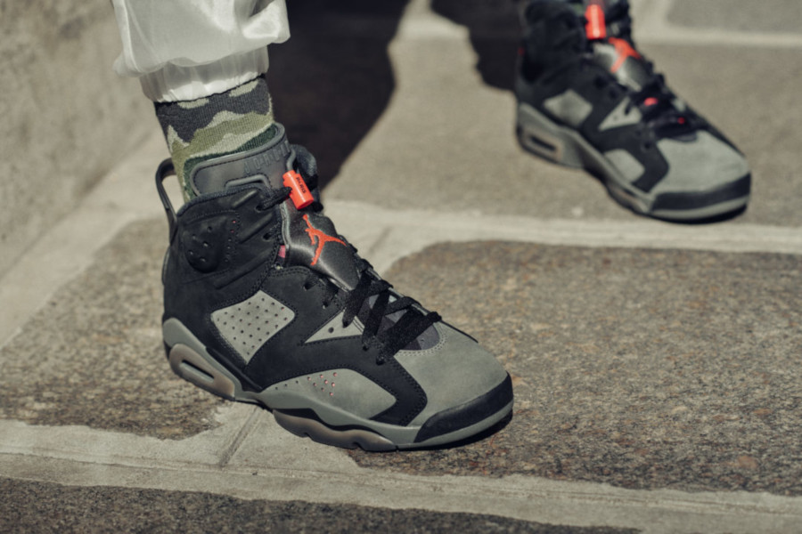 Air Jordan 6 Ici c'est Paris on feet (1)