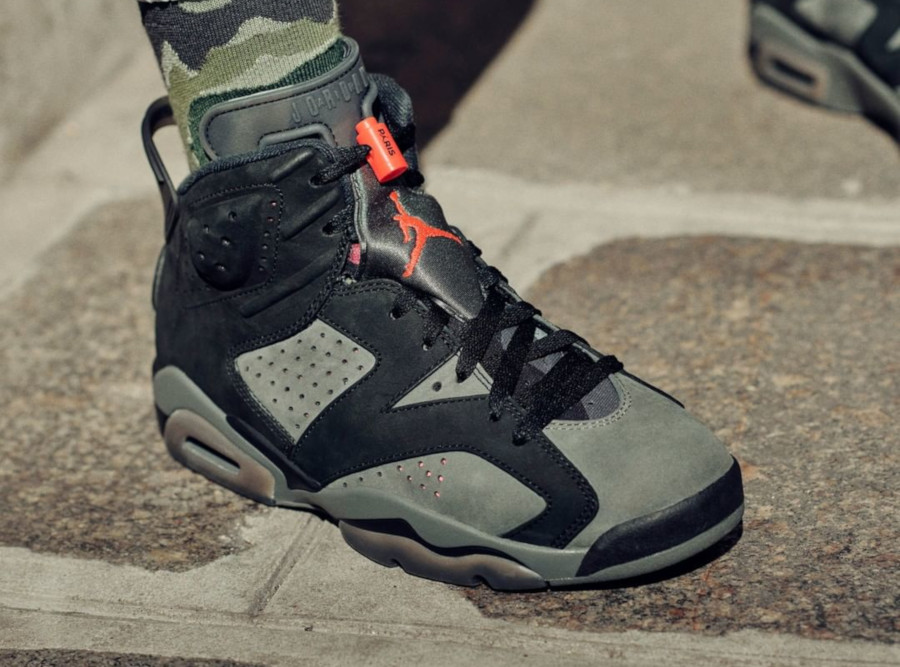 Air Jordan 6 Ici c'est Paris on feet (2)