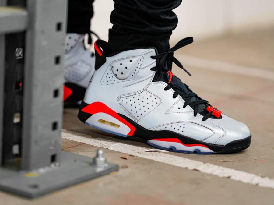 Air Jordan 6 Retro Reflective Infrared (CI4072-001)