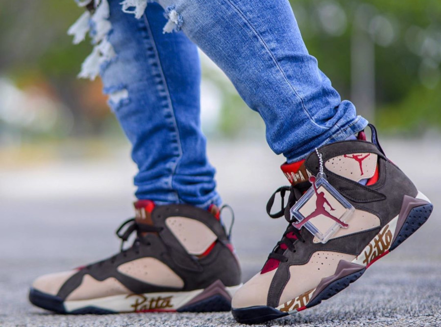 Air Jordan 7 Retro OG SP Patta 'Shimmer' AT3375-200