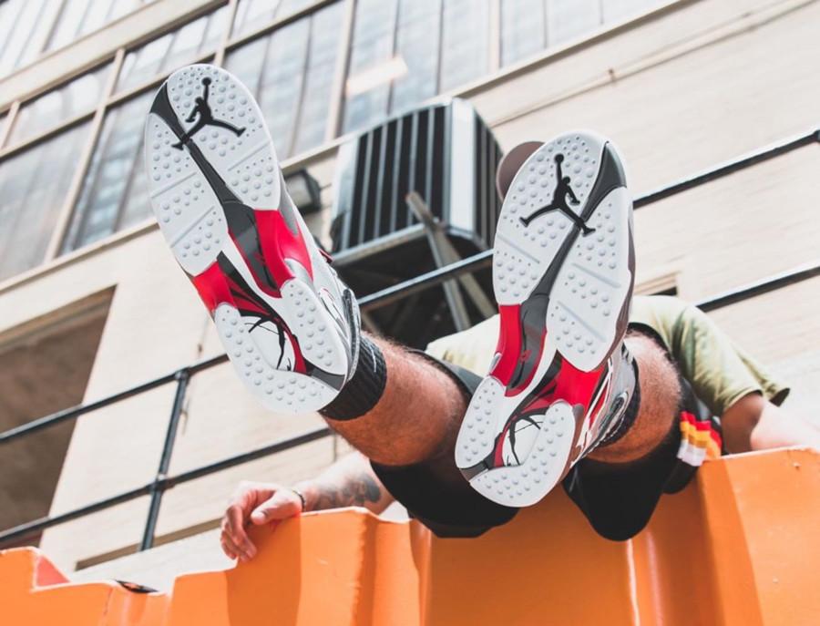 Air Jordan 8 Reflective Bugs Bunny (2)