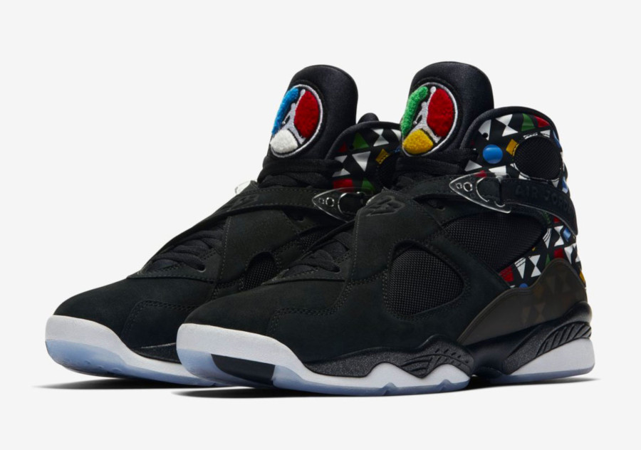 Air Jordan 8 Retro Quai 54