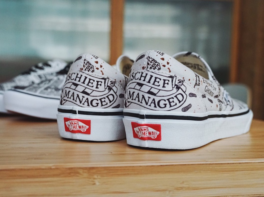 Harry Potter x Vans Slip On Marauders Map VN0A4BV3V3C