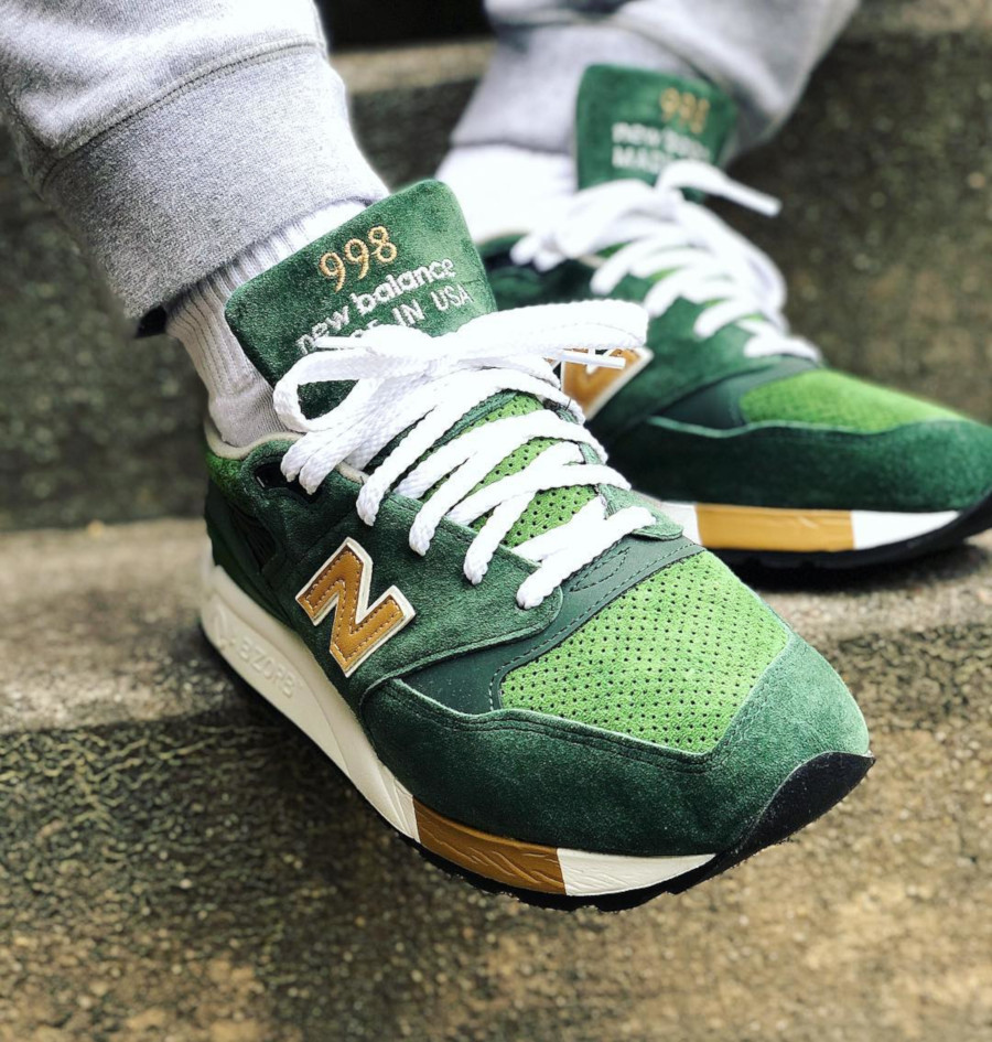 J Crews x New Balance M998 Greenbacks - @dregoppy