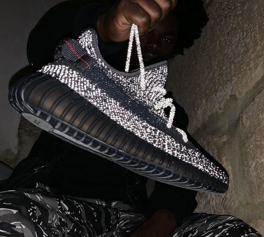 adidas yeezy boost 350 v2 black reflective release date off