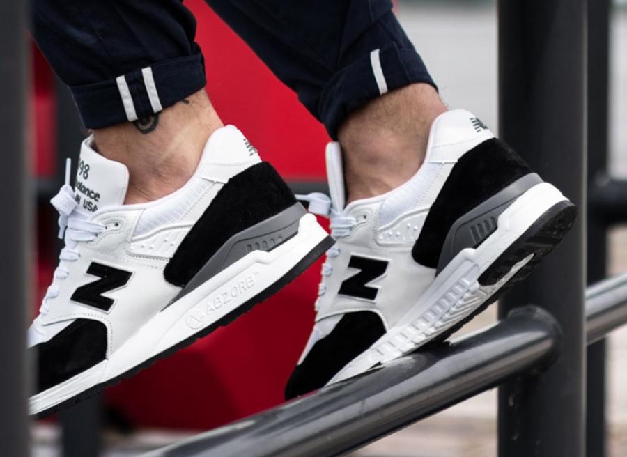 New Balance 998 Premium blanche et noire (1)