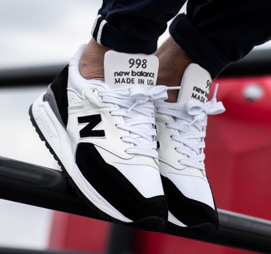 New Balance 998 Premium blanche et noire (3)