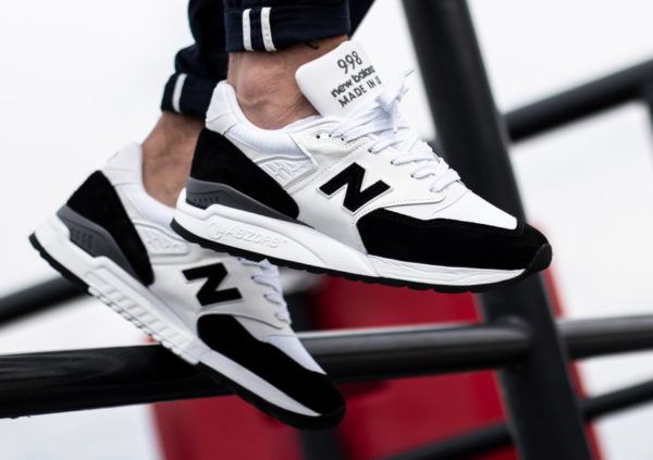 New Balance M998PSC Black White (made in USA)