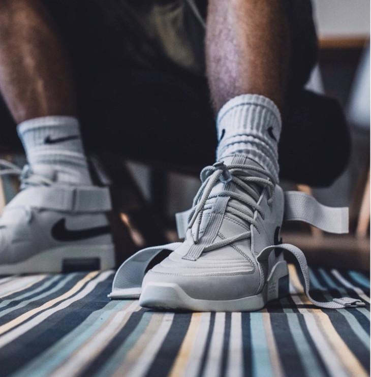 Nike Air Fear of God Raid Light Bone - @sneaker_fanatix (1)