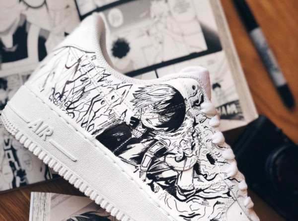 Nike Air Force 1 Low My Hero Academia (couv)