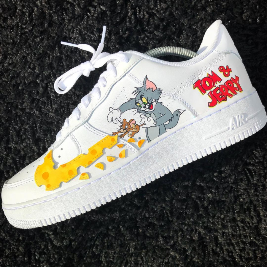 Nike Air Force 1 Low Tom et Jerry (1)