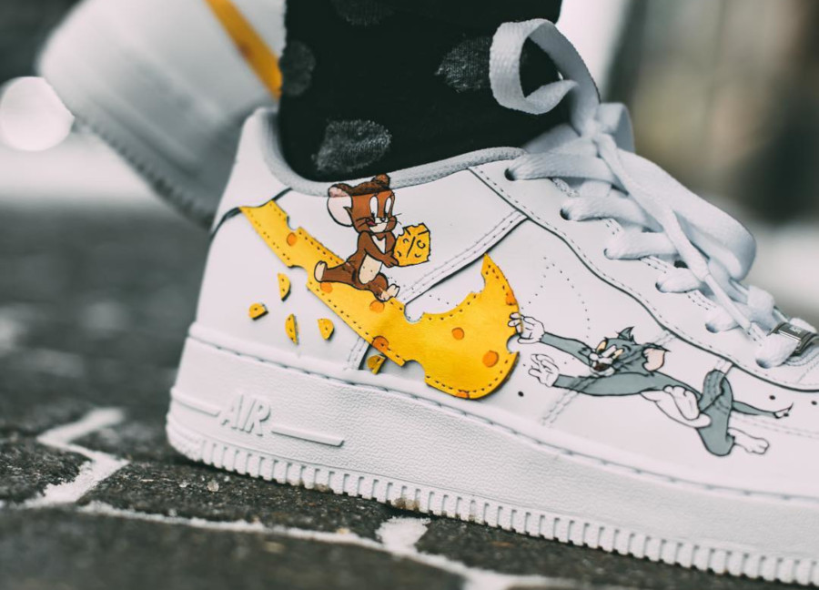 Nike Air Force 1 Low Tom et Jerry (3)