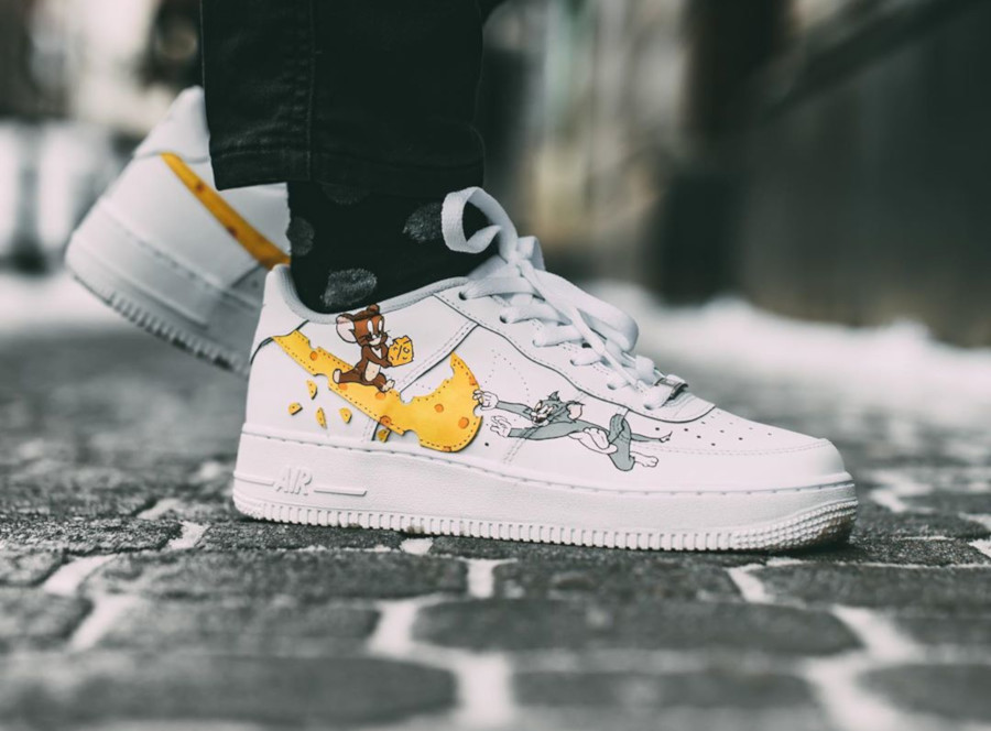 Nike Air Force 1 Low Tom et Jerry (5)