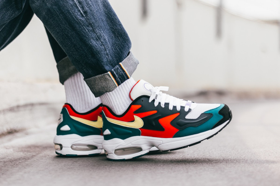 Nike Air Max 2 Light SP QS Harbanero Red Amory Navy BV1359-600 (3)