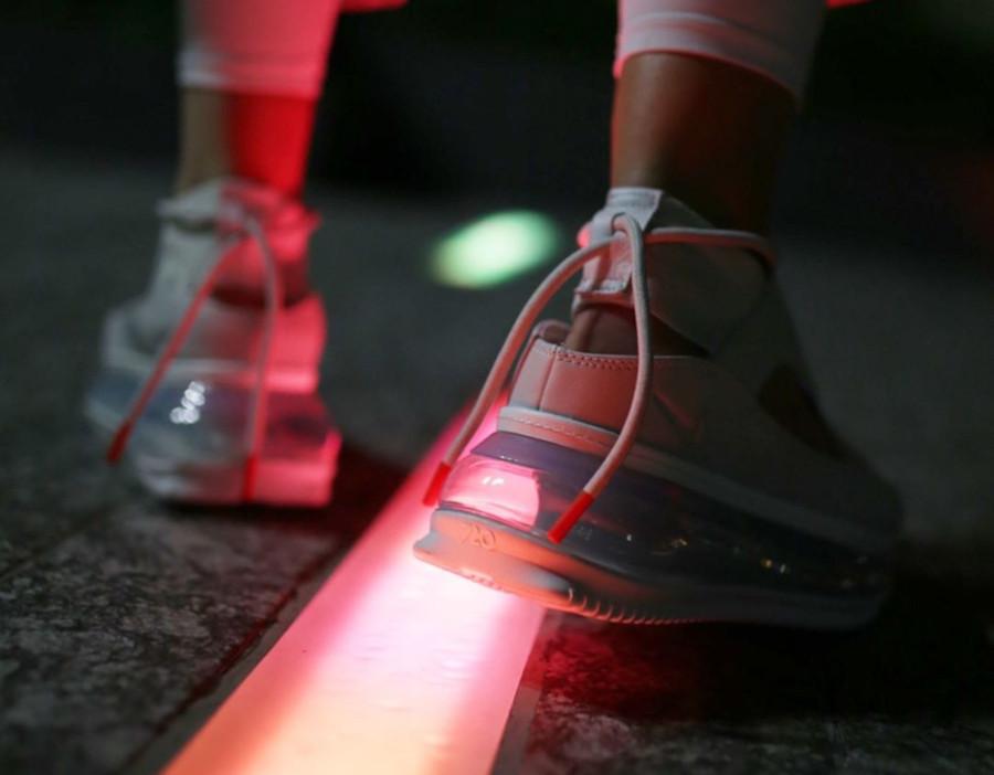 Nike Air Max 720 FF blanc cassé argent métallique (3)
