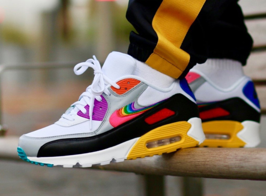 Nike Air Max 90 Betrue Multicolor Swoosh Gilbert Baker (1)