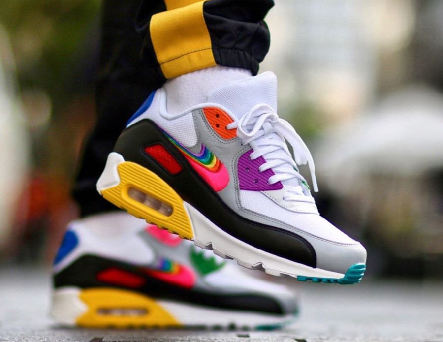 Nike Air Max 90 Betrue Multicolor Swoosh Gilbert Baker (2)