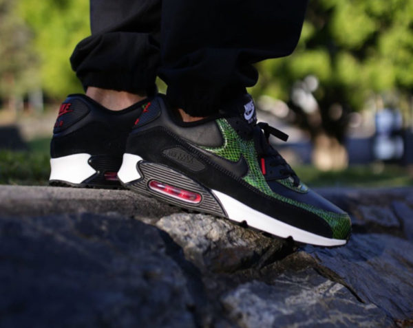 Nike Air Max 90 Green New Python QS CD0916-001