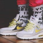 Nike Air Max 90 Premium 'Side A' Lemon Frost