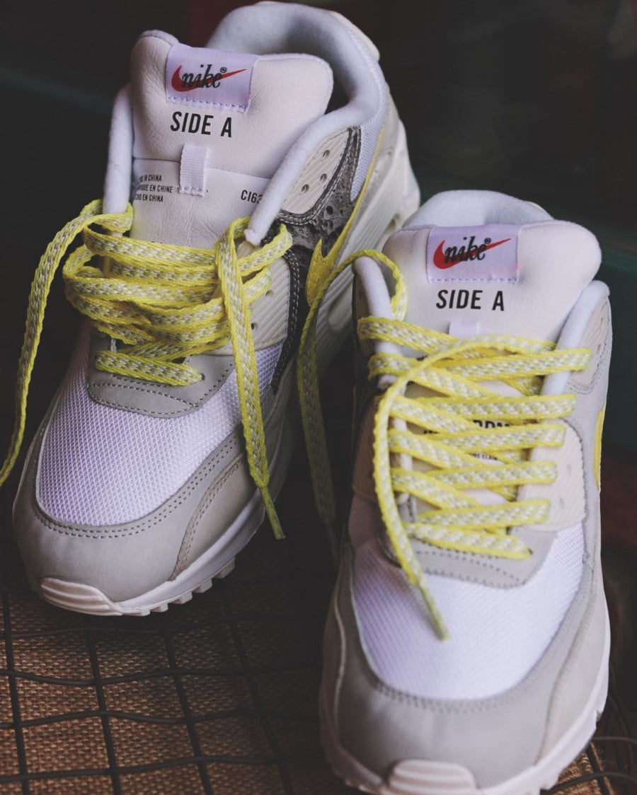 Nike Air Max 90 Premium 'Side A' Lemon Frost (1)