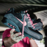 Nike Air Max 90 'Side B' Black Sunblush