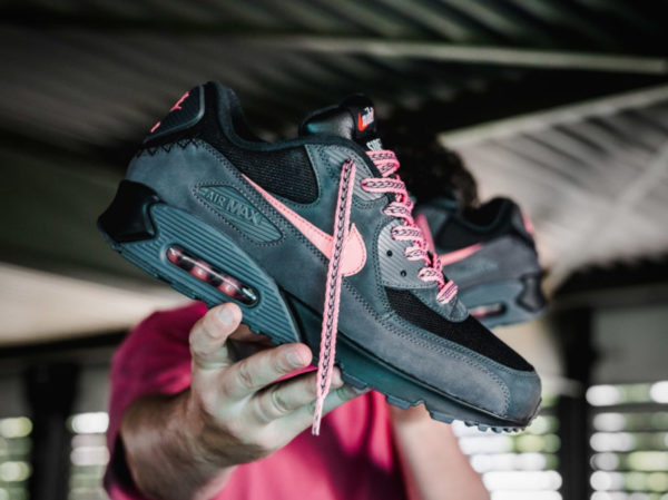 Nike Air Max 90 QS Mixtape Side B Black Sunblush CI6394-001