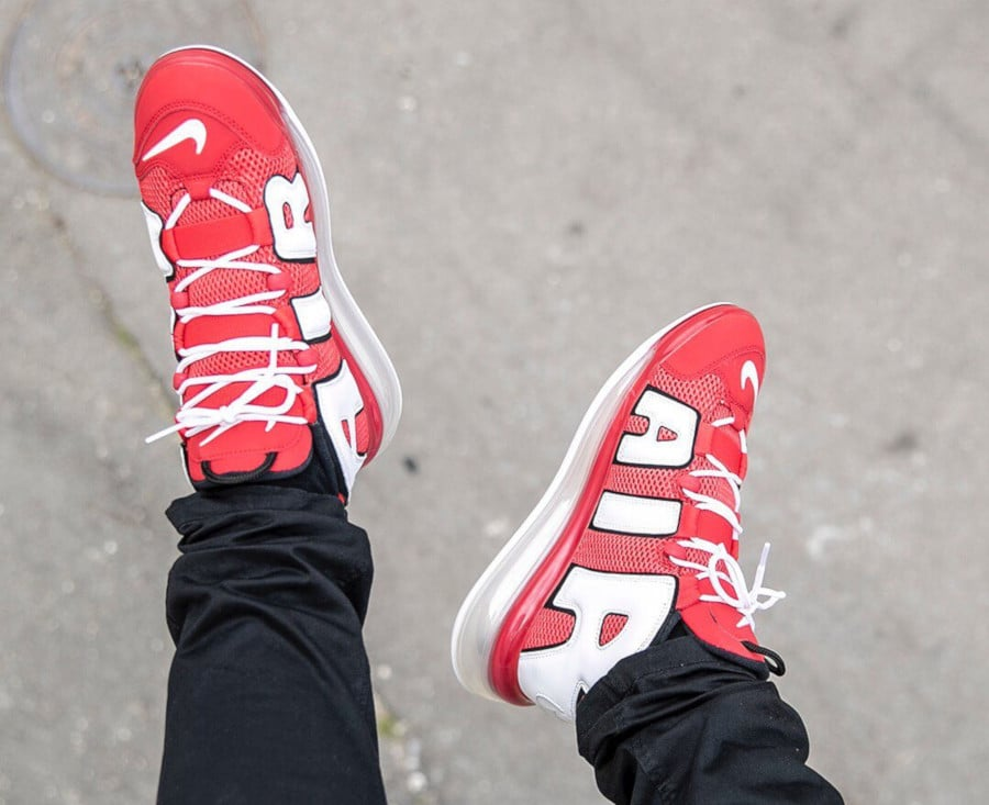 Nike Air More Uptempo 720 'University Red' (3)