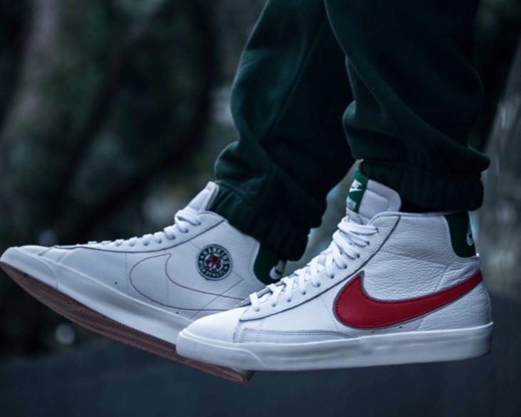 Nike-Blazer-Mid-White-Pine-Green-Cosmic-Clay-Sail-CJ6101-100-3 (3)